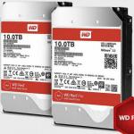 WD Redの10TBモデルHDD「WD100EFAX」&「WD101KFBX」が登場